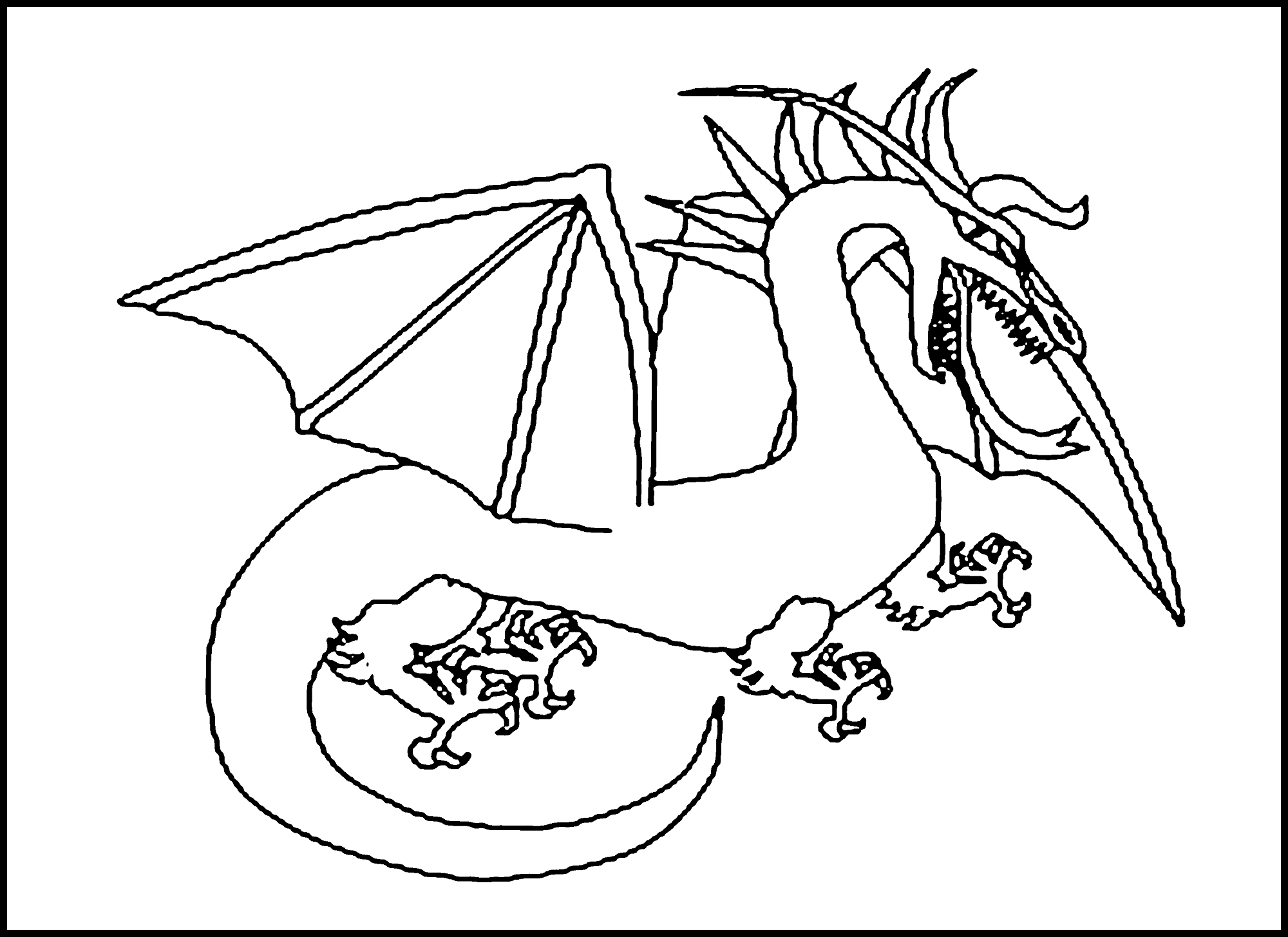 coloring pages dragon detailed dragon coloring pages coloring home pages coloring dragon