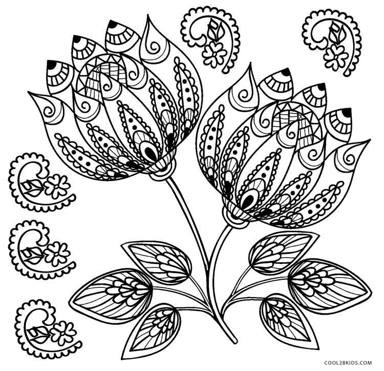 coloring pages flowers printable free printable flower coloring pages for kids coloring printable flowers pages