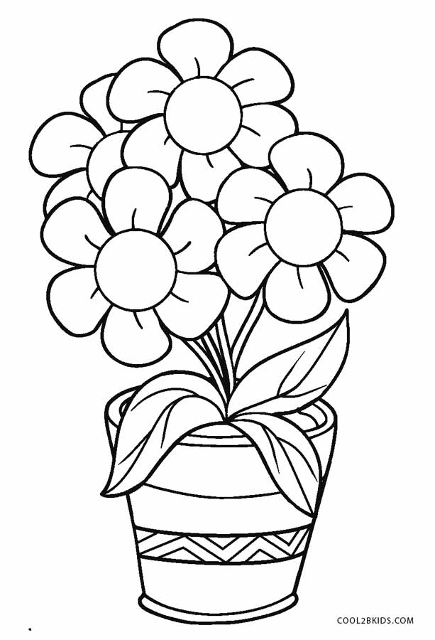 coloring pages flowers printable free printable flower coloring pages for kids cool2bkids coloring printable pages flowers