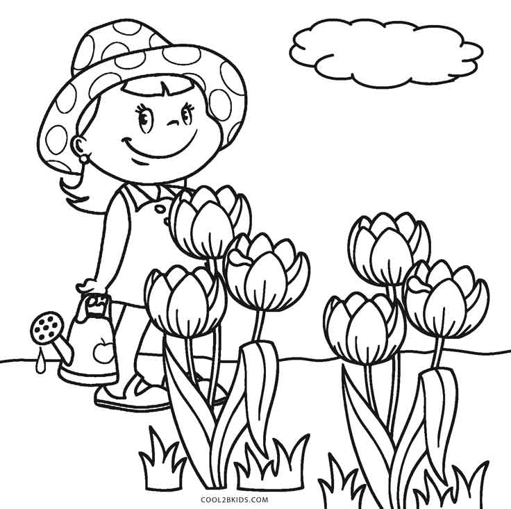coloring pages flowers printable free printable flower coloring pages for kids cool2bkids printable pages coloring flowers 1 1