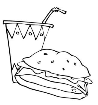 coloring pages food and drink 17 best images about coloring food drinks on pinterest coloring and pages drink food
