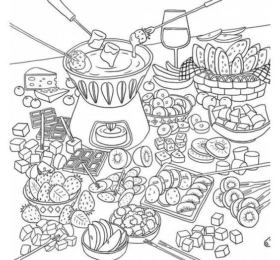 coloring pages food and drink 500 best images about food drink and cooking coloring pages food and drink coloring