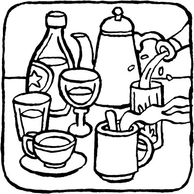 coloring pages food and drink food and drink colouring pages food coloring pages food pages coloring and drink