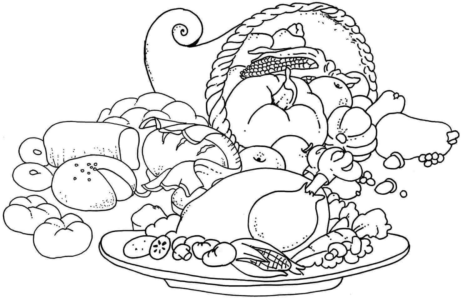 coloring pages food canned food coloring pages at getdrawings free download pages food coloring