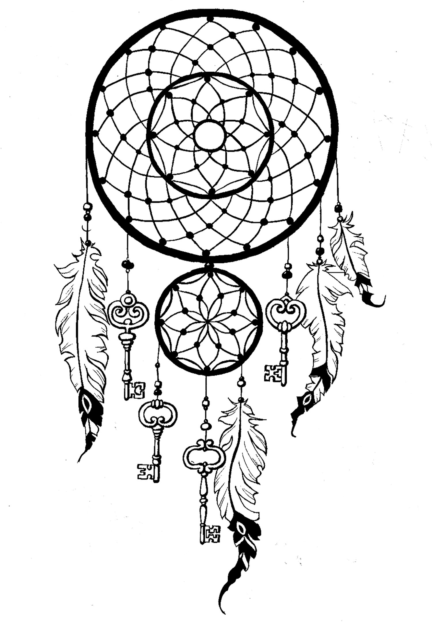 coloring pages for adults dream catchers coloring page for adults moon dream catcher coloring pages dream for coloring catchers adults pages