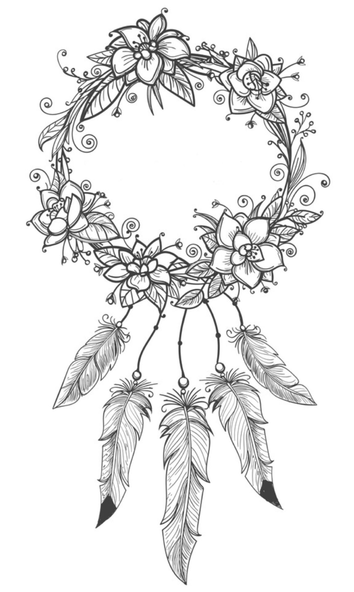coloring pages for adults dream catchers dreamcatcher coloring page by felicity french dream for coloring catchers adults dream pages