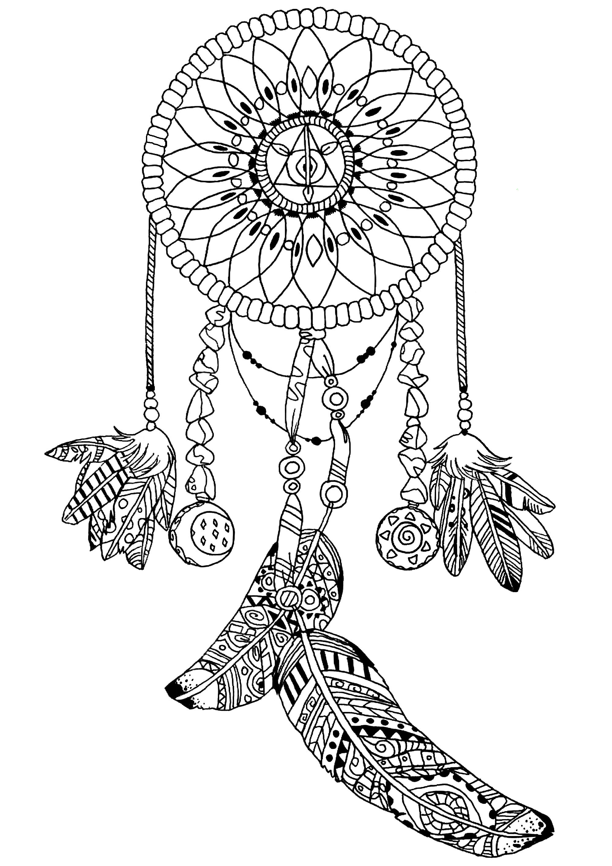coloring pages for adults dream catchers dreamcatcher coloring page coloring pages for adults coloring for pages catchers adults dream