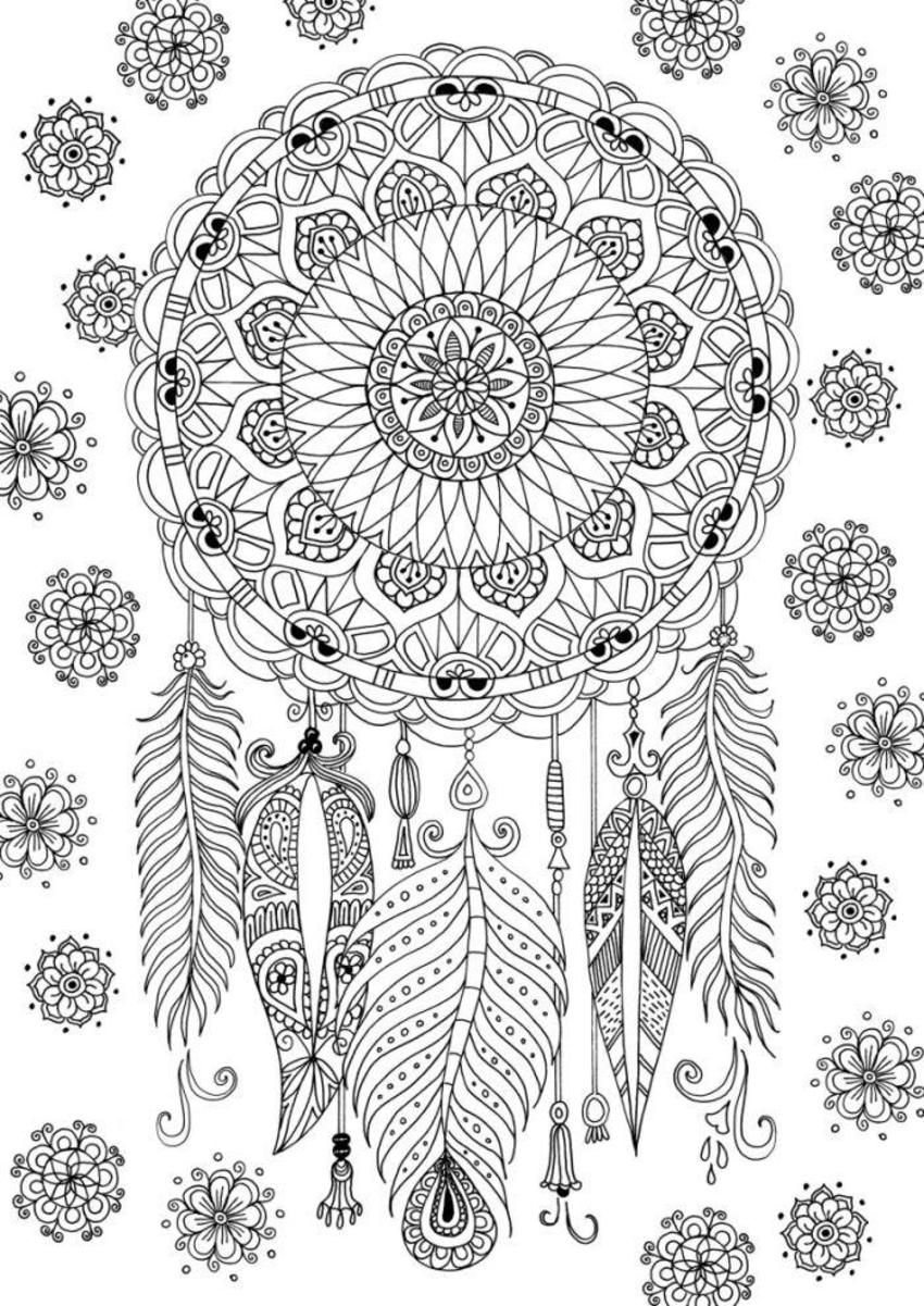 coloring pages for adults dream catchers free adult coloring page dreamcatcher adult coloring for dream coloring catchers adults pages