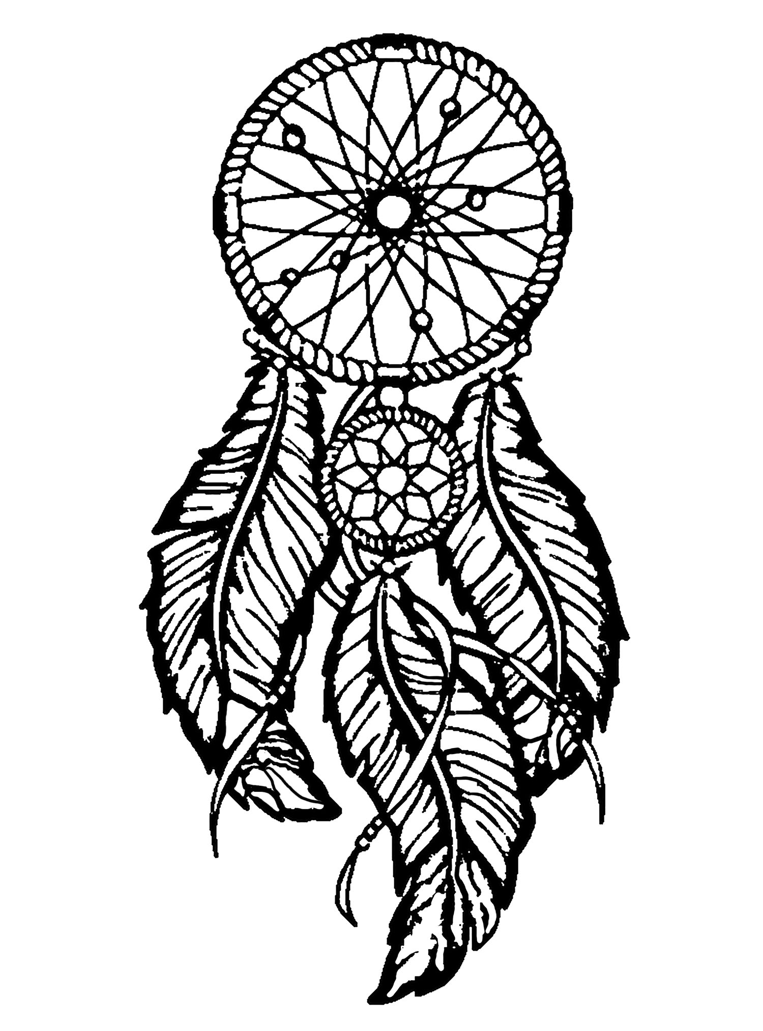 coloring pages for adults dream catchers free dream catcher coloring pages for adults printable to adults coloring dream pages for catchers