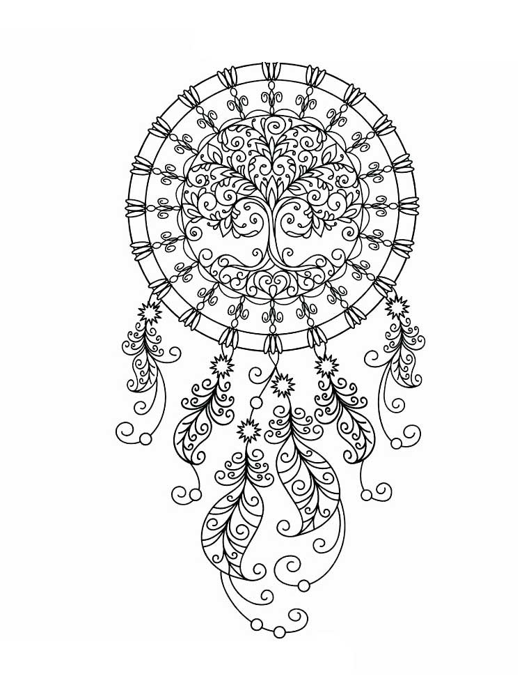 coloring pages for adults dream catchers get the coloring page dreamcatcher 50 printable adult dream pages adults for coloring catchers