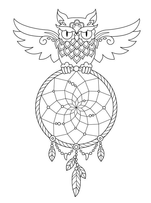 coloring pages for adults dream catchers printable adult coloring pages dreamcatchers part 3 catchers for pages adults coloring dream