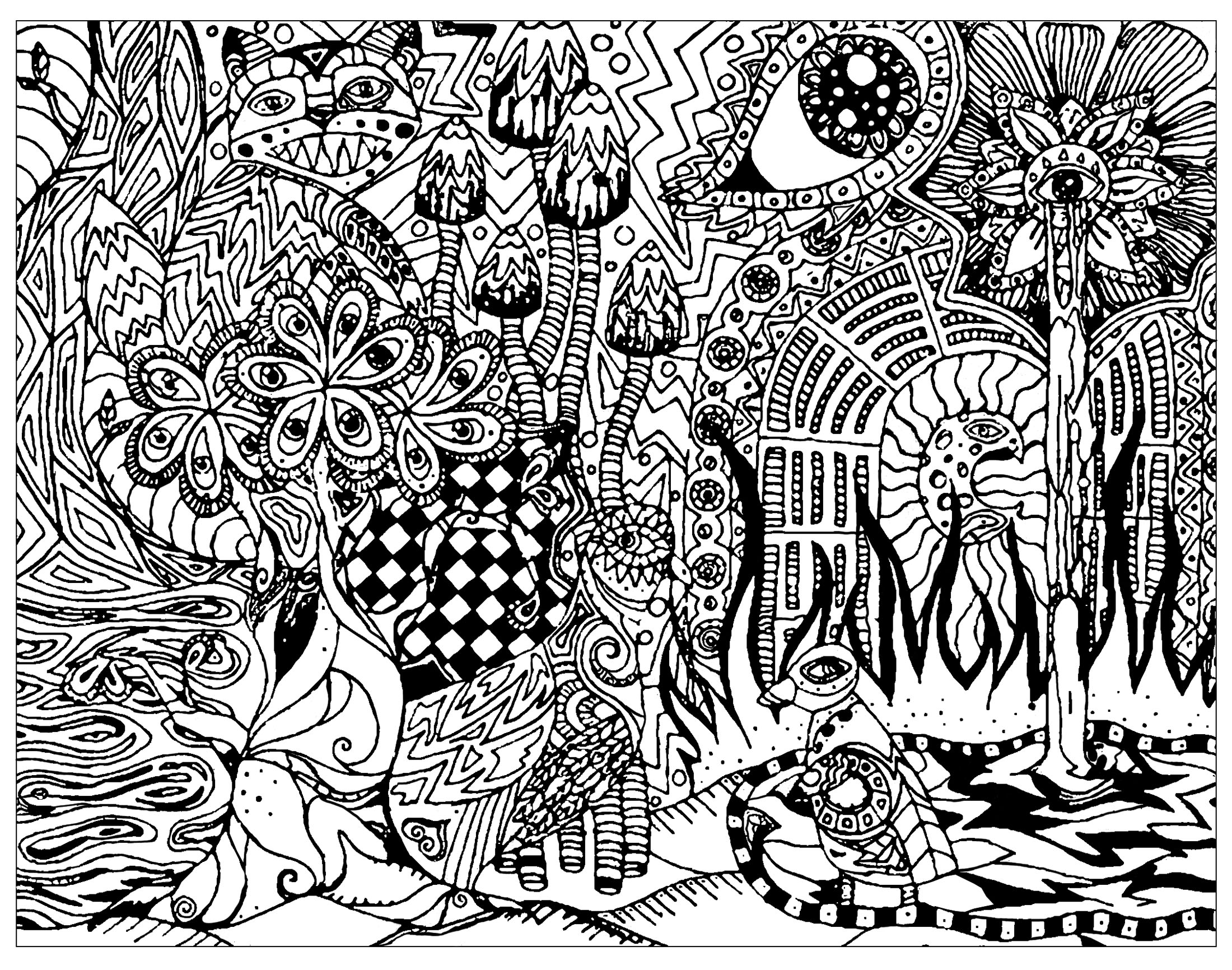 coloring pages for adults trippy 314 best trippypsychedelic coloring pages images on adults trippy for coloring pages
