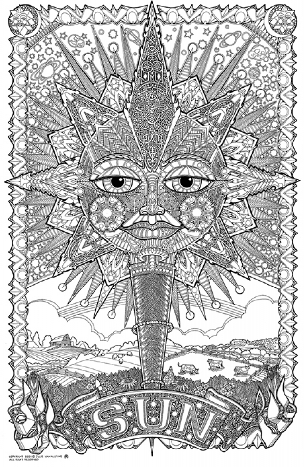 coloring pages for adults trippy get this free trippy coloring pages to print for adults adults trippy coloring for pages 1 1