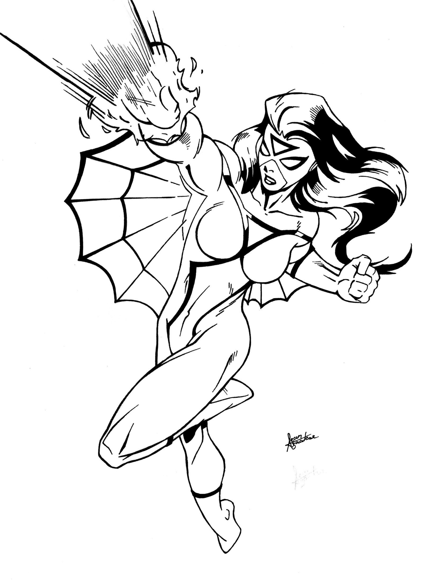 coloring pages for girls age 11 spider woman coloring pages coloring home 11 age pages for girls coloring