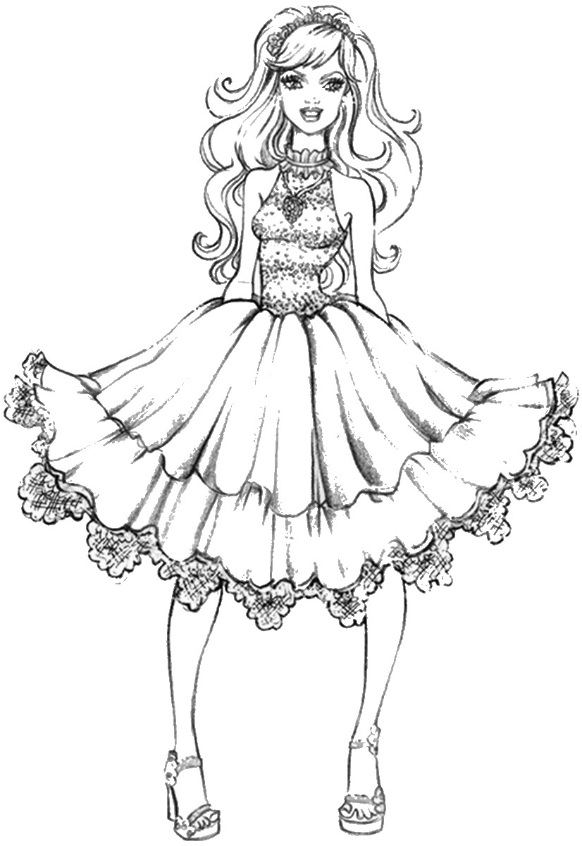 coloring pages for girls designs fashion coloring pages for girls coloring designs pages