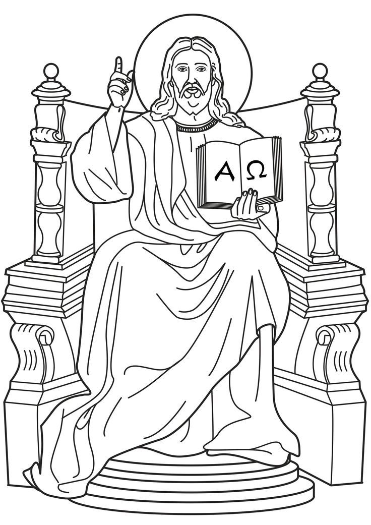 coloring pages for kids jesus christ the king coloring page coloring home pages kids for coloring jesus