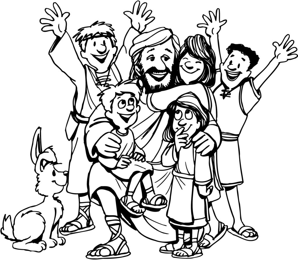 coloring pages for kids jesus coloring pages jesus and the little children coloring coloring kids jesus pages for
