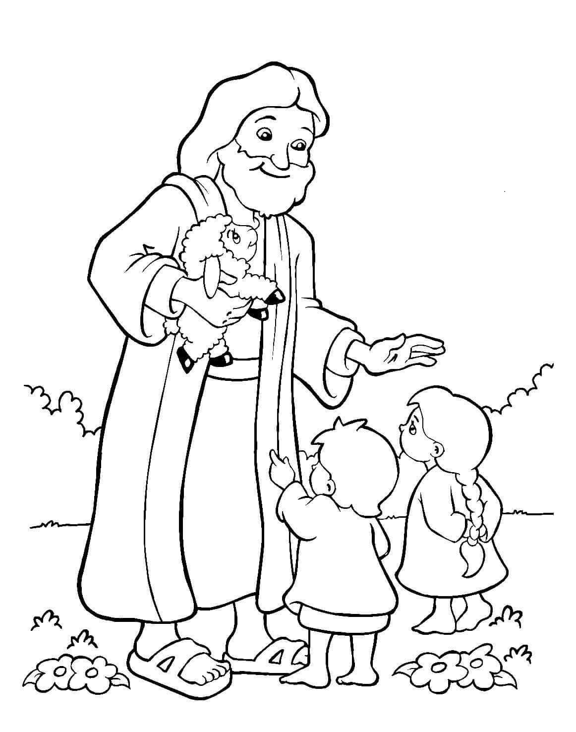coloring pages for kids jesus free printable jesus coloring pages for kids kids pages jesus coloring for
