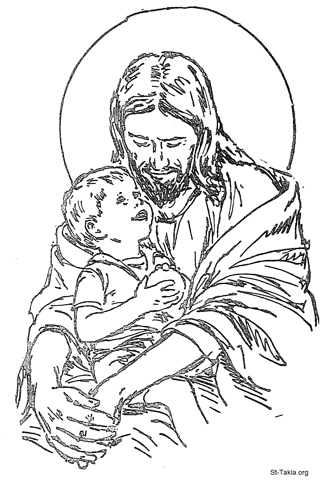 coloring pages for kids jesus jesus christ coloring pages getcoloringpagescom coloring kids jesus for pages