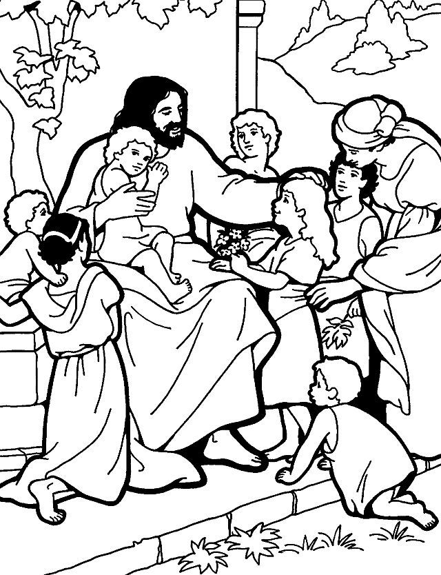 coloring pages for kids jesus jesus teaching children to pray sunday school coloring for coloring pages kids jesus