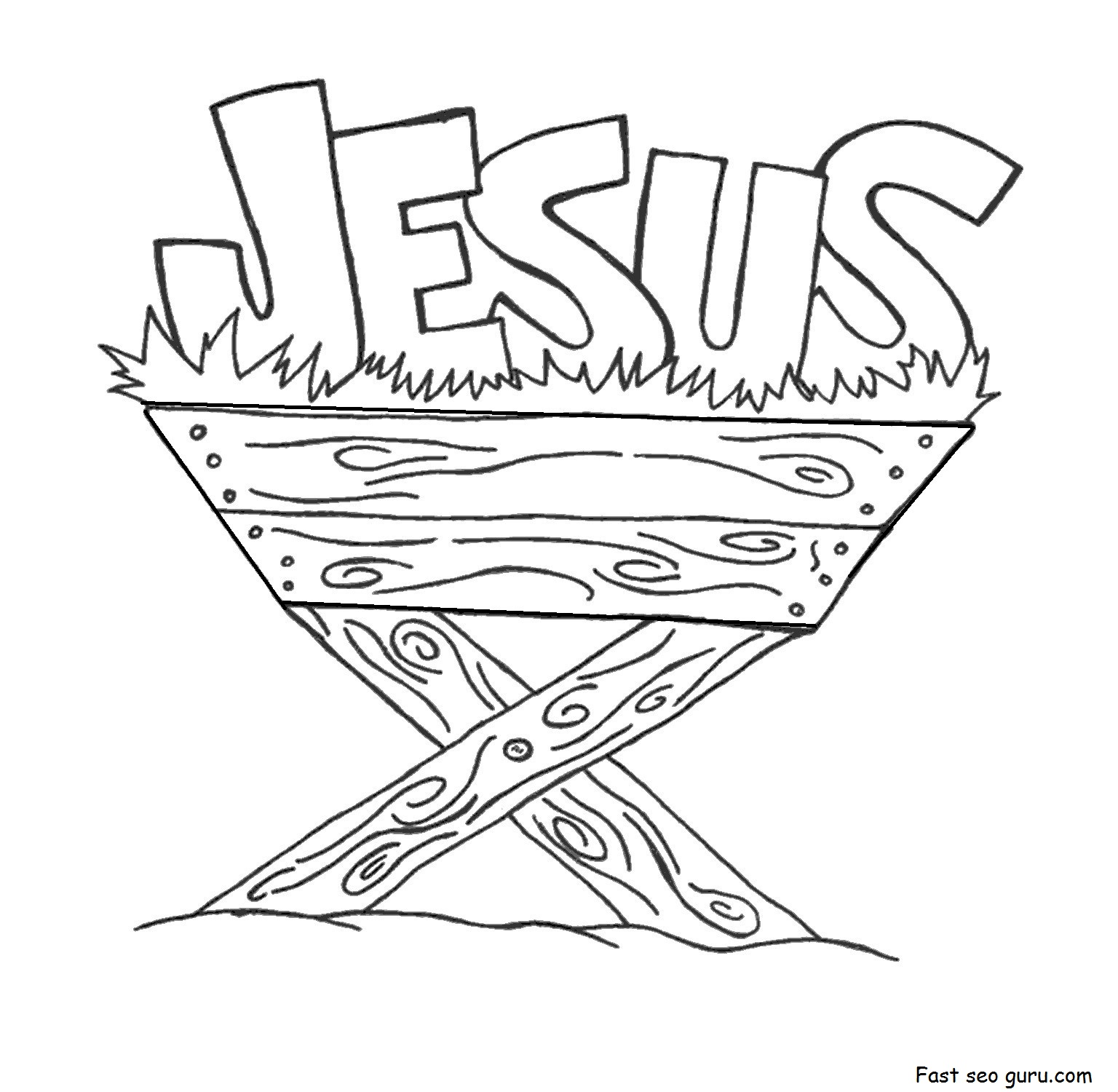 coloring pages for kids jesus print out jesus in the manger coloring pages printable for coloring pages jesus kids