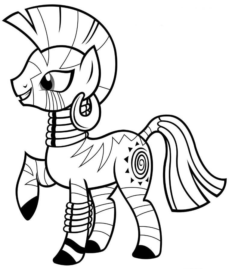 coloring pages for my little pony zecora coloring pages team colors my pony little coloring for pages
