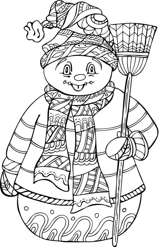 coloring pages for seniors snowman coloring pages for adults at getcoloringscom pages coloring seniors for