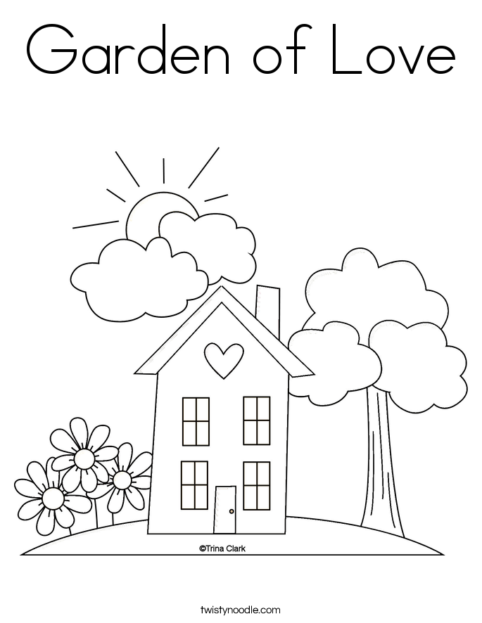 coloring pages house with garden 236 best garden coloring pages images on pinterest garden pages with house coloring
