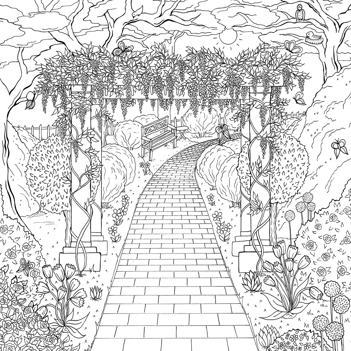 coloring pages house with garden 9 best images of worksheets bird info bird body parts garden pages with coloring house