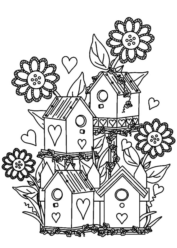 coloring pages house with garden agriculture a z a colouring book with house coloring pages garden