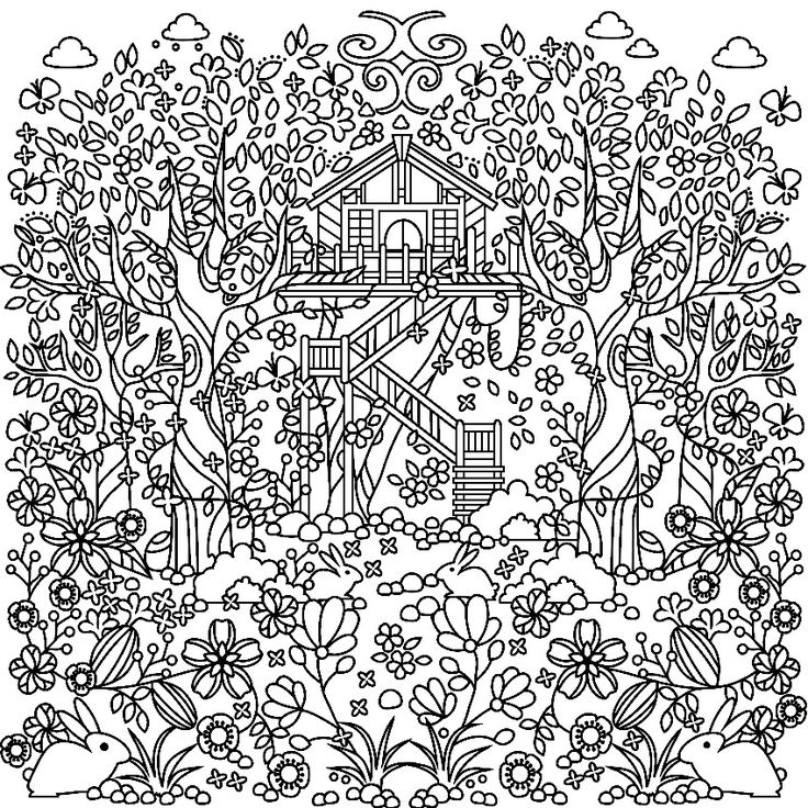 coloring pages house with garden amazoncom inkspirations in the garden fabulous floral house with garden pages coloring