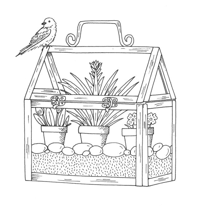 coloring pages house with garden red river valley home garden show coloring contest pages with garden coloring house