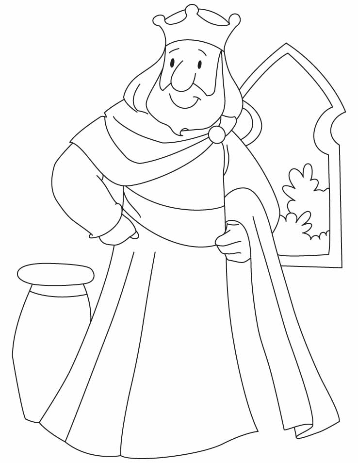 coloring pages king how to draw king coloring pages kids play color coloring king pages
