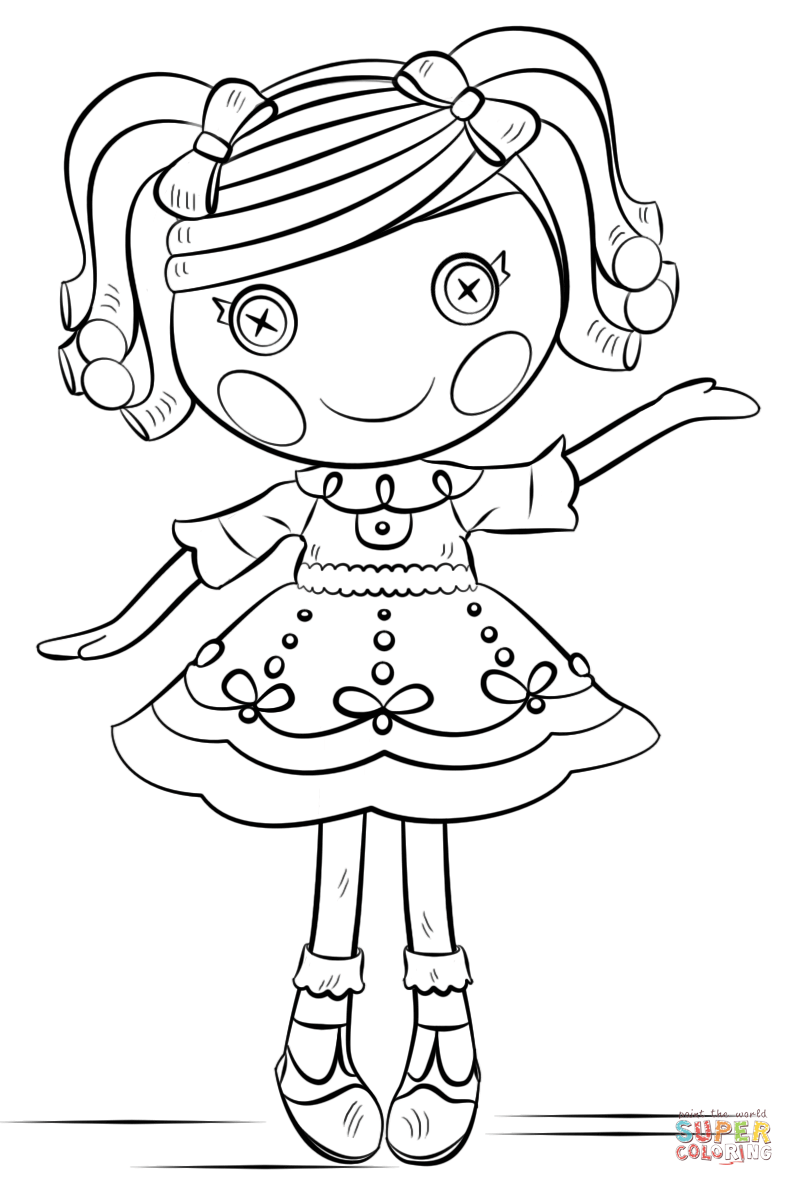 coloring pages lalaloopsy dolls coloring pages lalaloopsy dolls lalaloopsy coloring pages dolls
