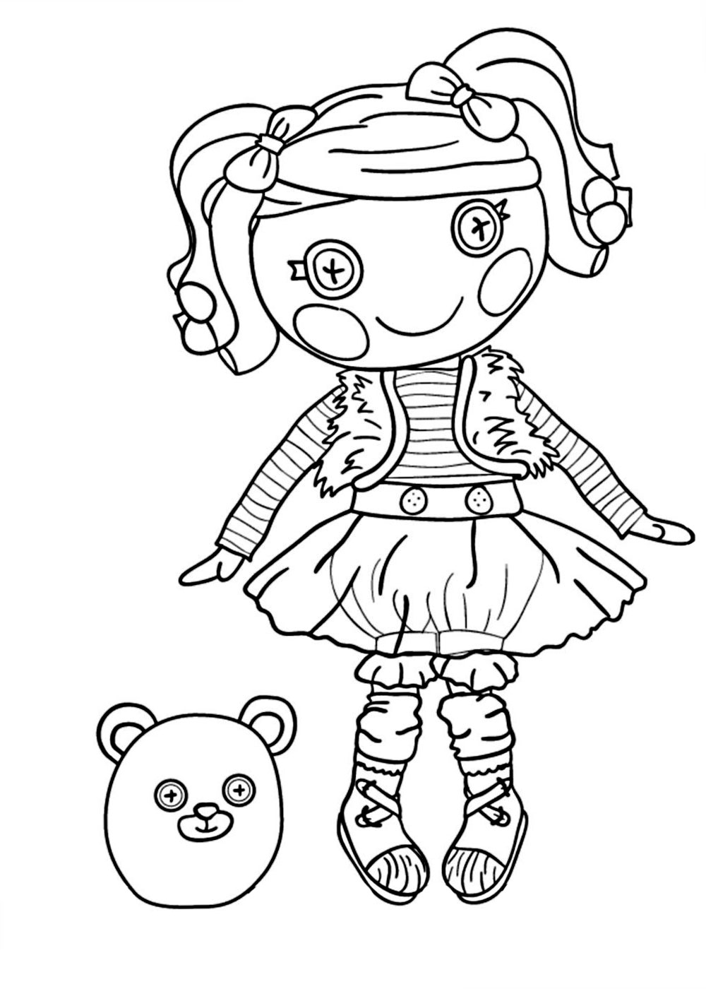 coloring pages lalaloopsy dolls coloring pages of lalaloopsy dolls coloring pages for pages lalaloopsy dolls coloring