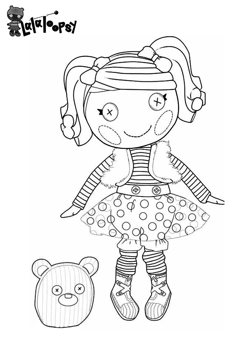 coloring pages lalaloopsy dolls lalaloopsy coloring pages for girls to print for free lalaloopsy coloring pages dolls