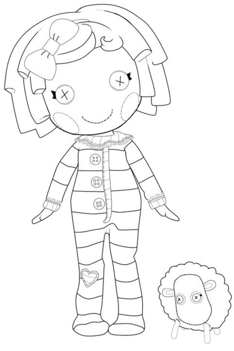 coloring pages lalaloopsy dolls lalaloopsy coloring pages for girls to print for free lalaloopsy pages dolls coloring