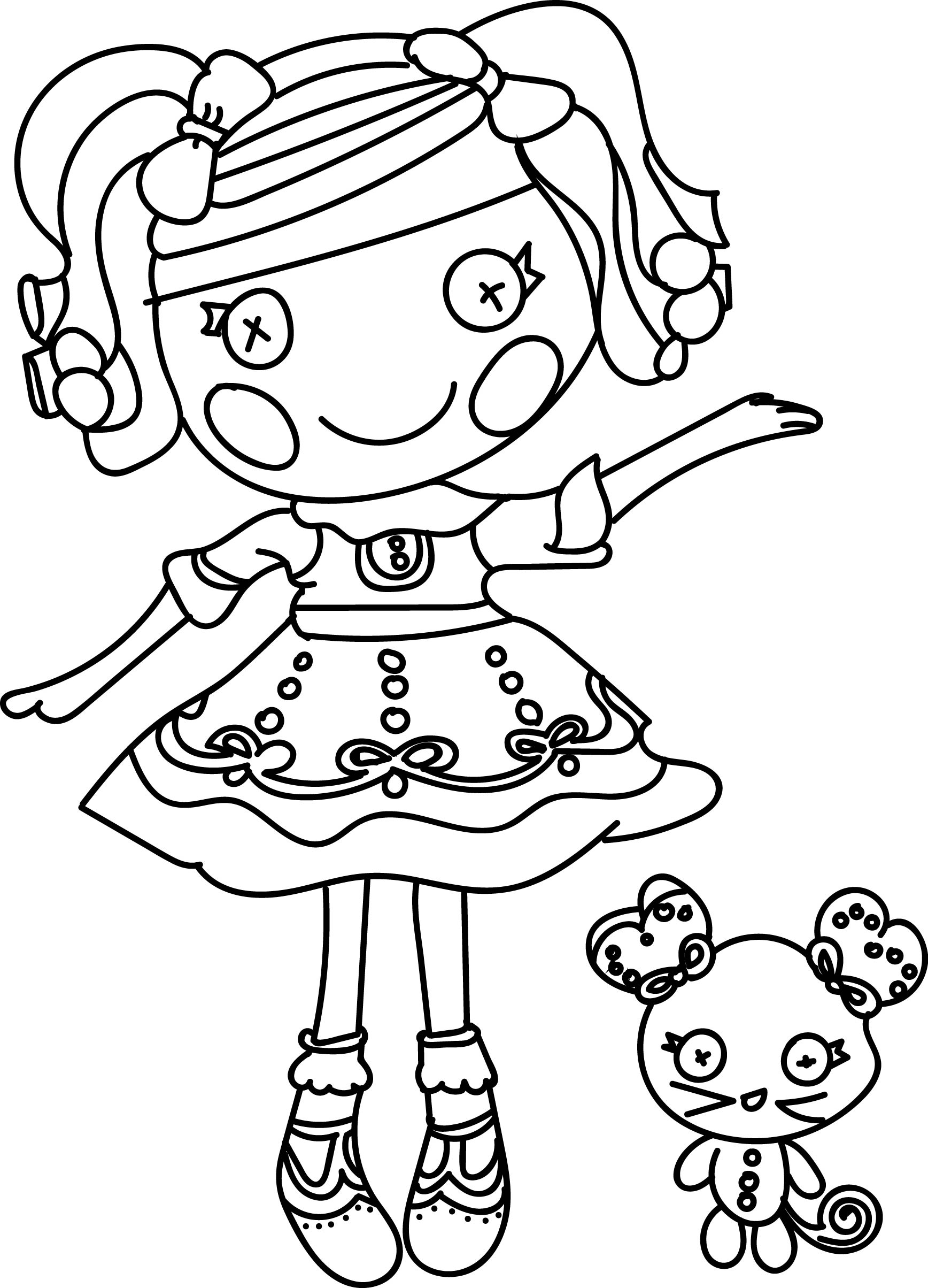 coloring pages lalaloopsy dolls the best lalaloopsy dolls coloring pages coloring pages dolls lalaloopsy