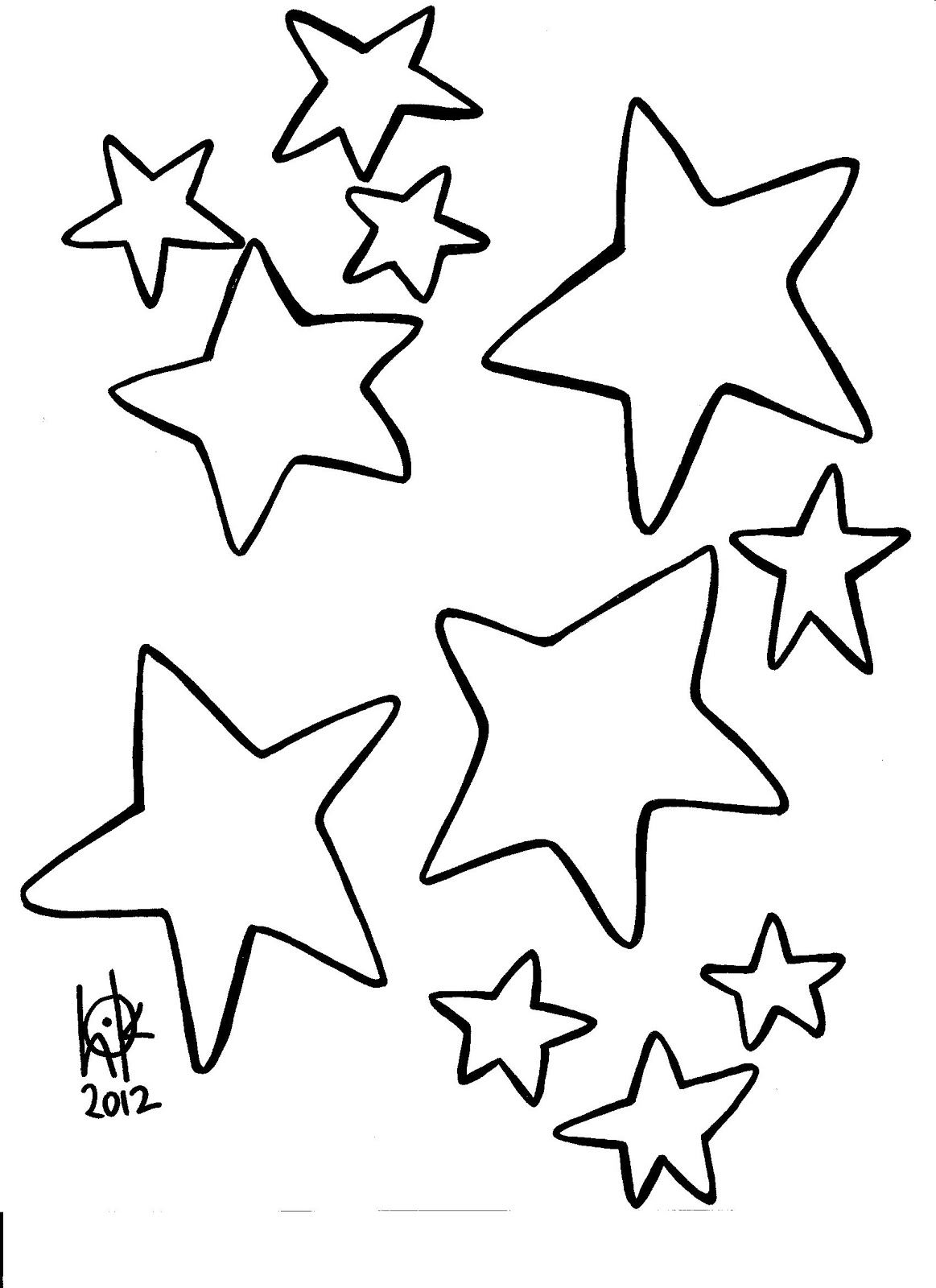 coloring pages of a star christmas star coloring pages at santalettercom of a coloring pages star