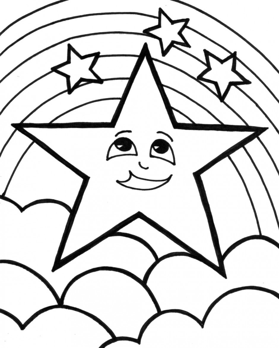 coloring pages of a star star coloring pages for childrens printable for free of coloring pages star a