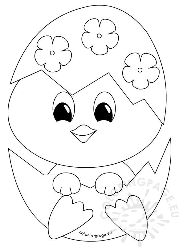 coloring pages of baby chicks baby chick coloring pages getcoloringpagescom baby pages of coloring chicks