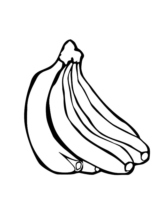 coloring pages of bananas banana coloring pages download and print banana coloring coloring bananas of pages