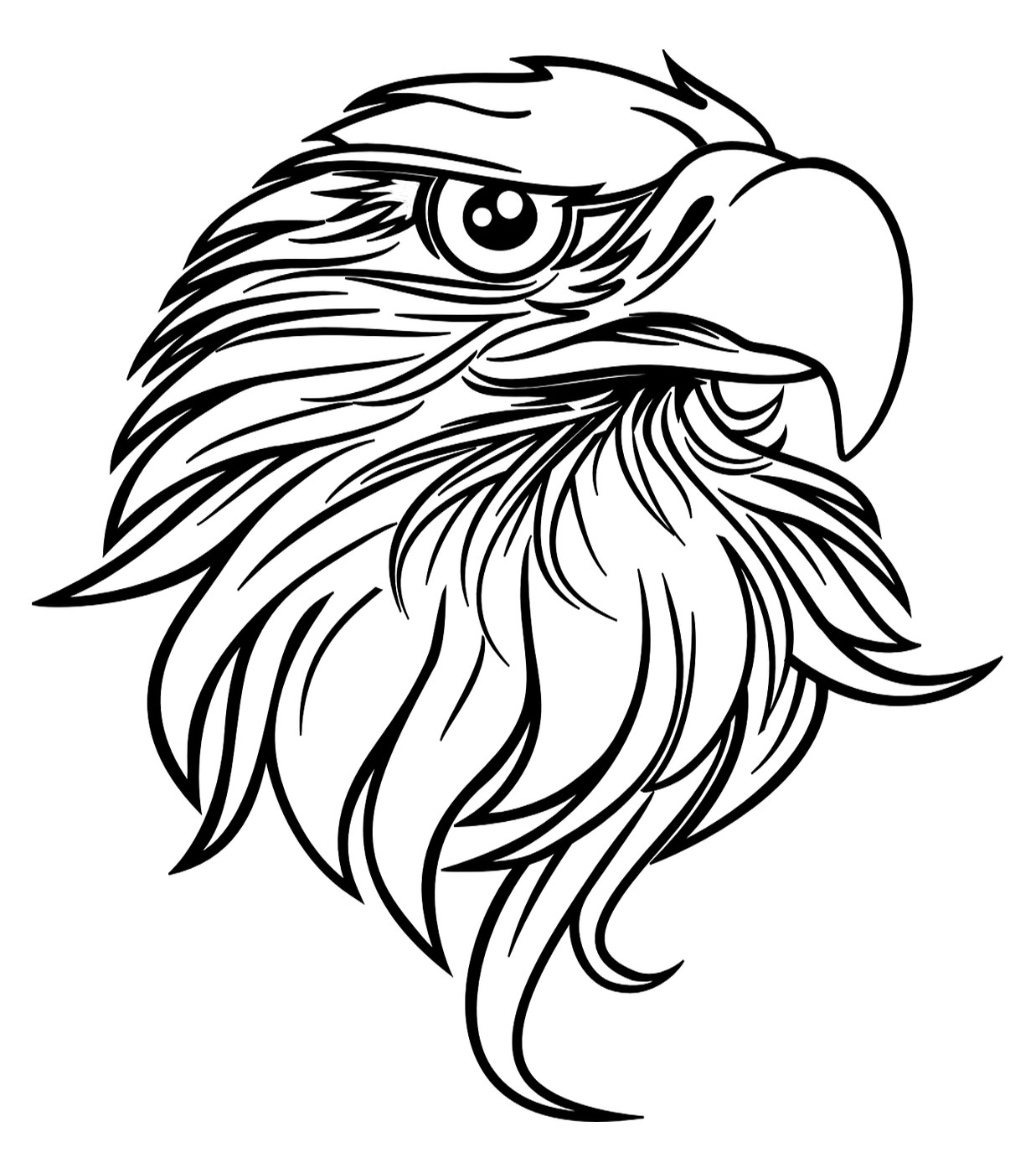 coloring pages of eagles free printable bald eagle coloring pages for kids coloring pages of eagles