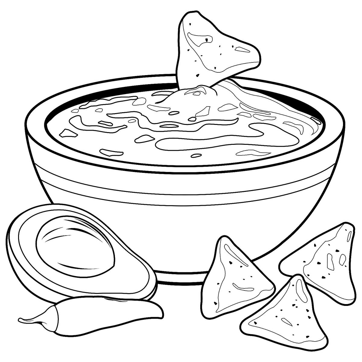 coloring pages of food cute foods coloring pages free coloring home food coloring pages of