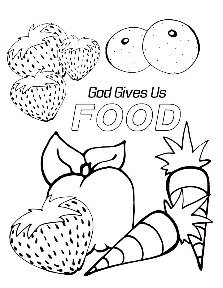 coloring pages of food food coloring pages coloringrocks food of coloring pages