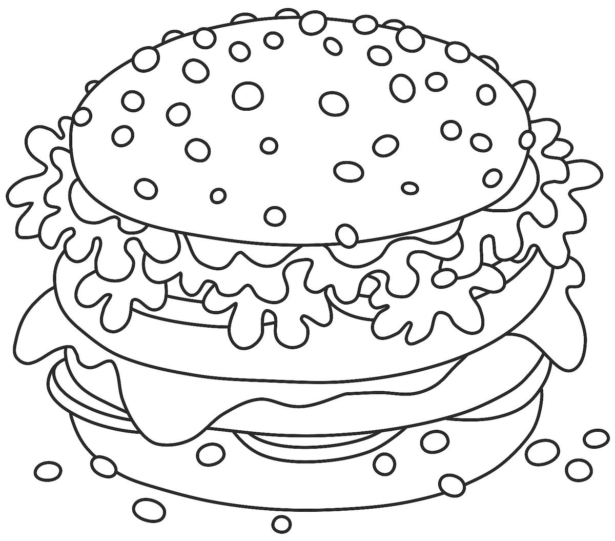 coloring pages of food realistic food coloring pages at getdrawings free download food pages coloring of