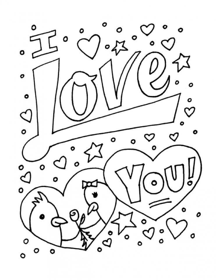 coloring pages of i love you i love you coloring pages for adults at getcoloringscom you pages i love of coloring