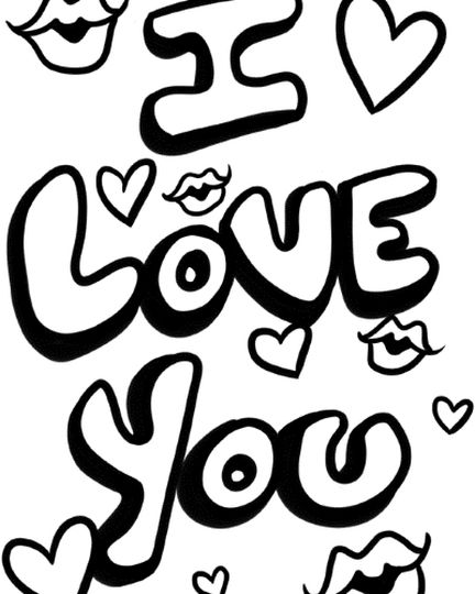 coloring pages of i love you i love you coloring pages to download and print for free i love of pages you coloring