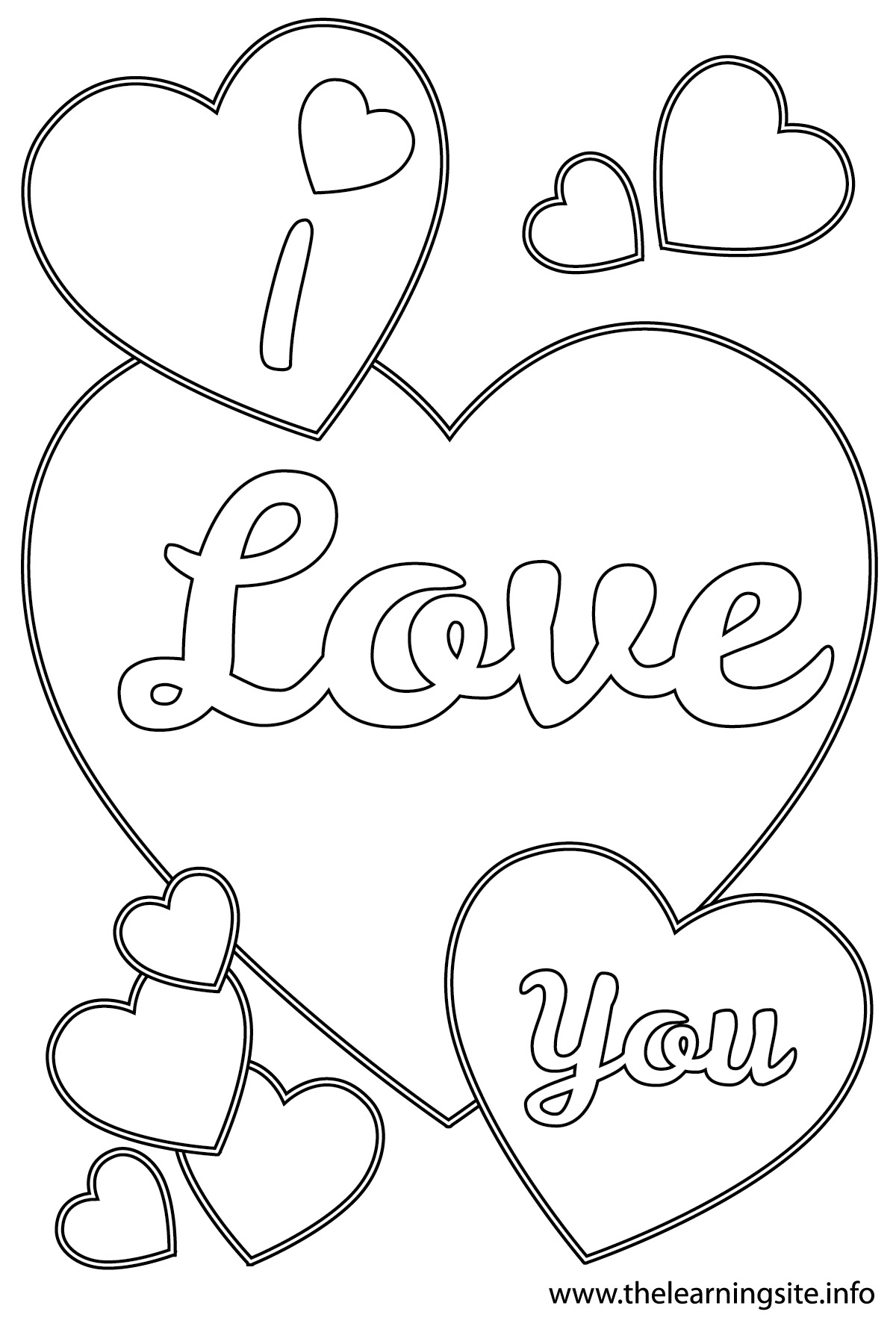 coloring pages of i love you quoti love you quot coloring pages gtgt disney coloring pages i you love coloring pages of