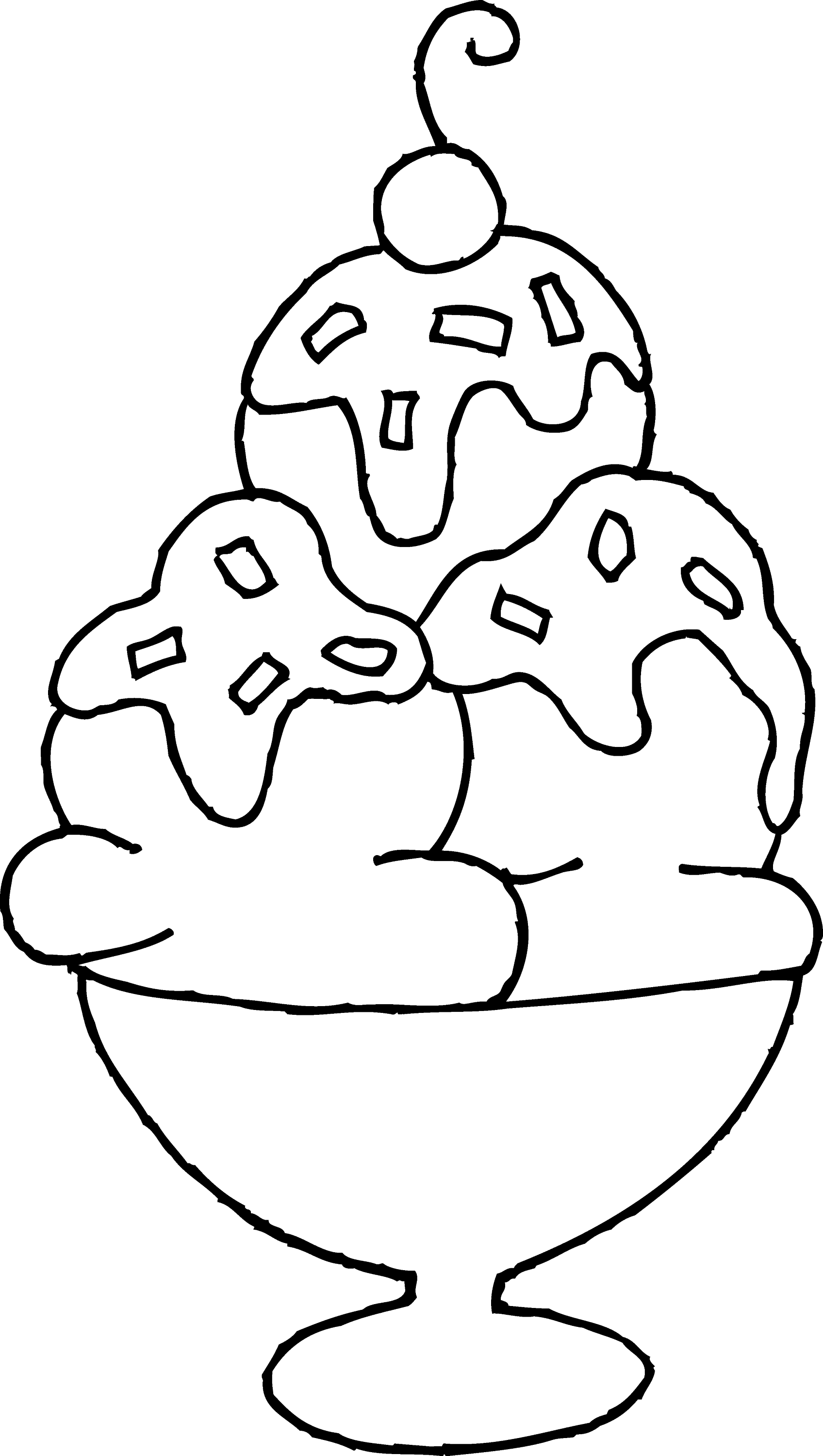 coloring pages of ice cream sundaes best ice cream sundae clipart 24036 clipartioncom pages coloring cream of ice sundaes